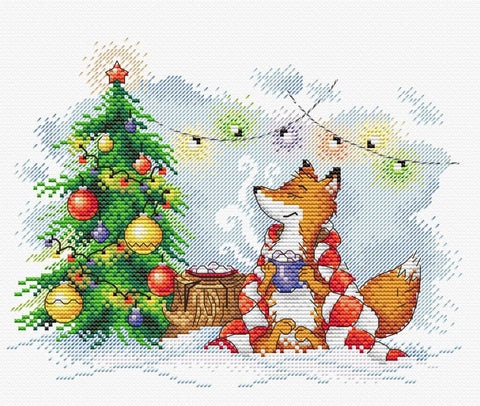 MP Studia Cross Stitch Kit - New Year Lights