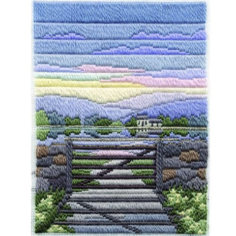 Derwentwater Designs Long Stitch Kit - Spring Evening