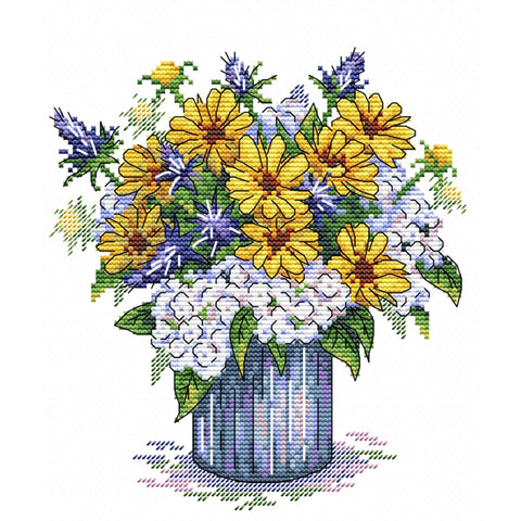 MP Studia Cross Stitch Kit - Aroma Melody