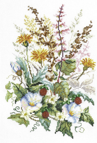 Magic Needle Cross Stitch Kit - Forest Glade