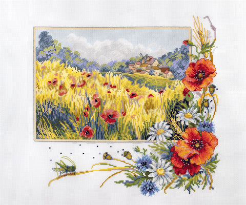 Merejka Cross Stitch Kit - Summer Field