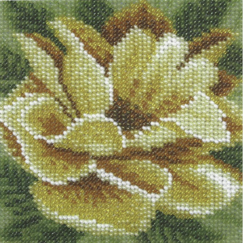 VDV Bead Embroidery Kit - Dog Rose