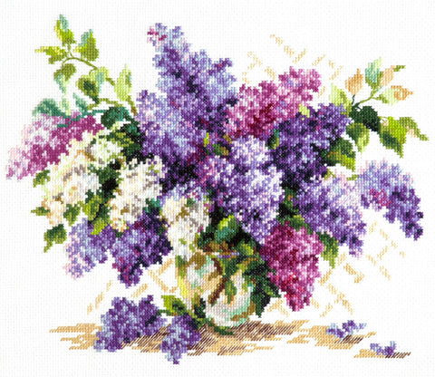 Magic Needle Cross Stitch - Lilac