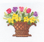 Panna Cross Stitch and Ribbon Embroidery Kit - The Scent of Spring