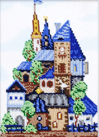 VDV Bead Embroidery Kit - Johnny's House