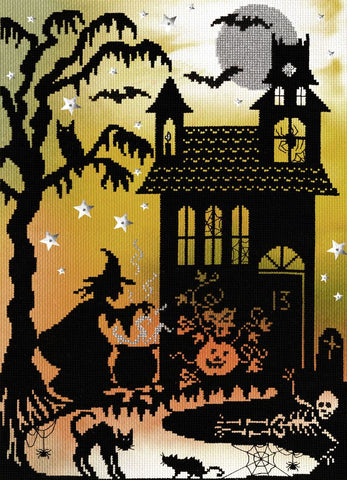 Bothy Threads Cross Stitch Kit - Pumpkin House