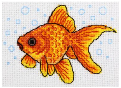 VDV Cross Stitch Kit - Goldfish (M-0222),