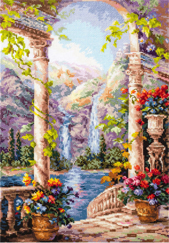 Magic Needle Cross Stitch Kit - Fantastic View