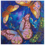 Panna Bead Embroidery Kit - Butterflies Among Nocturnal Flowers