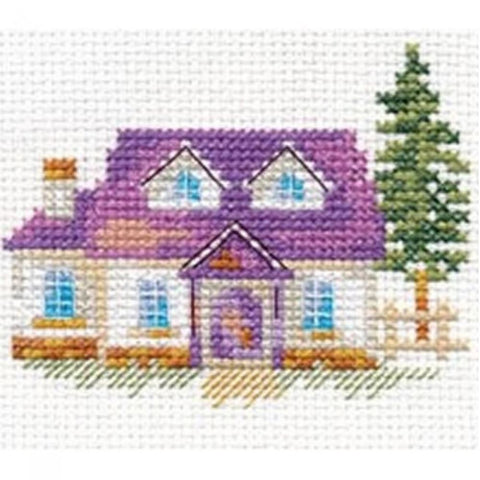 Alisa Cross Stitch Kit - House on the Hill