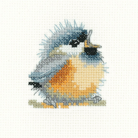 Heritage  Crafts Simply Heritage Cross Stitch Kit - Chirpy
