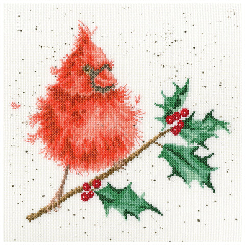 Bothy Threads Cross Stitch Kit - Festive Feathers