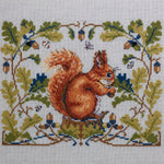 Merejka Cross Stitch Kit - Squirrel (Aida)