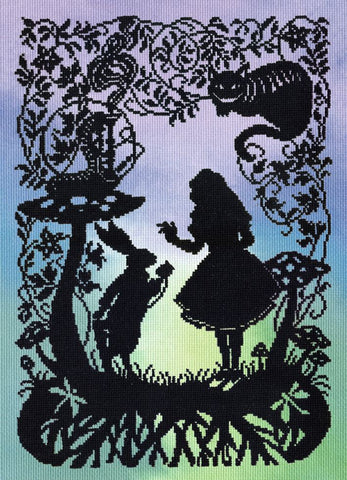 Bothy Threads Cross Stitch Kit - Alice in Wonderland