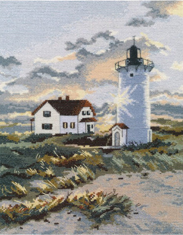 Oven Cross Stitch Kit - Coastal Lighthouse