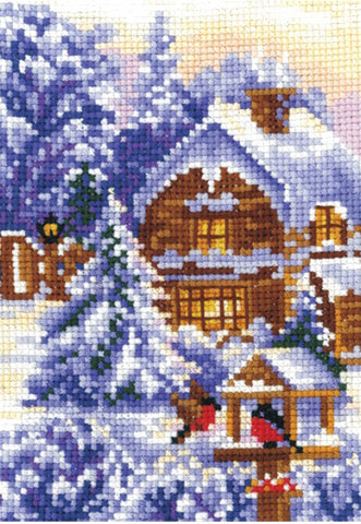 Andriana Cross Stitch kit - Seasons Winter