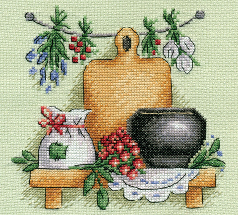 Panna Cross Stitch Kit - Healing Herbs