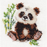 Alisa Cross Stitch Kit - Panda