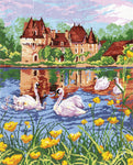 Magic Needle Cross Stitch Kit - Swan Lake