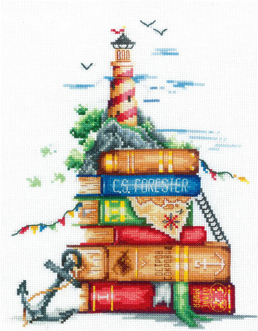 Andriana Cross Stitch Kit - Sea Stories