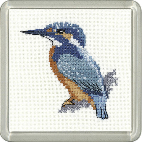 Heritage Crafts Little Friends Coaster Kit - Kingfisher