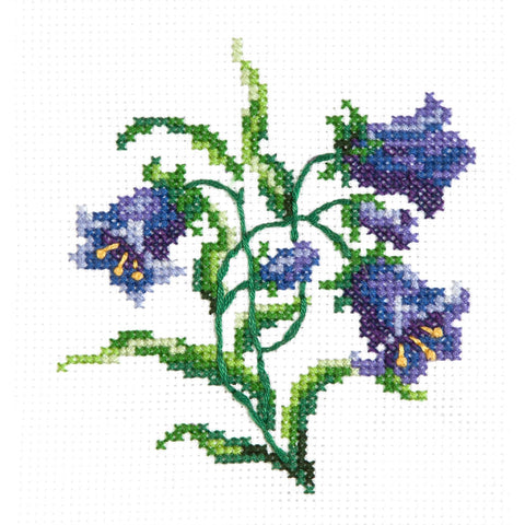 Magic Needle Cross Stitch Kit - Bluebells