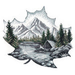 Oven Cross Stitch Kit - Alone with Nature