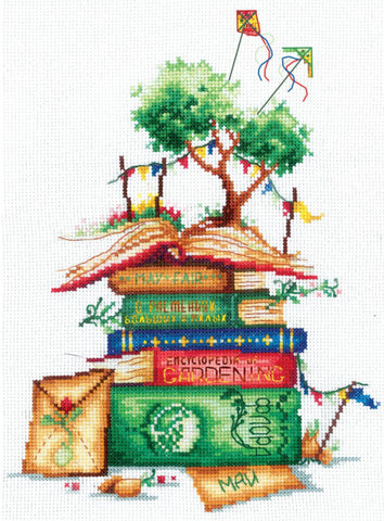 Andriana Cross Stitch Kit - Country Stories