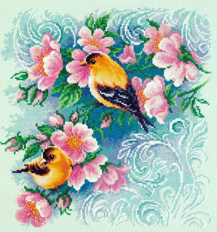 Magic Needle Cross Stitch Kit - Beautiful Romance