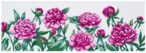 VDV Cross Stitch Kit - Peonies (M-0990),