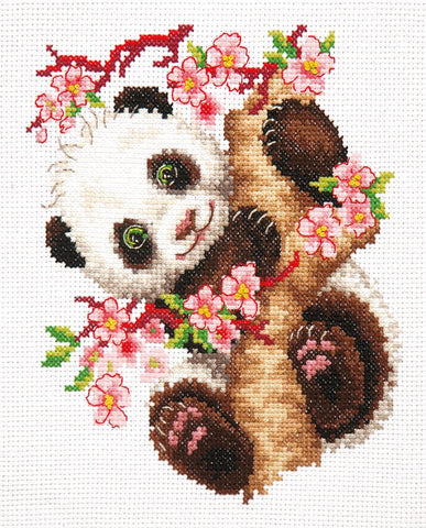 Magic Needle Cross Stitch Kit - Panda