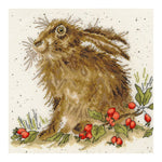 Bothy Threads Cross Stitch Kit - Hippy Hare