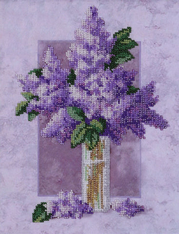 VDV Bead Embroidery Kit - Lilac