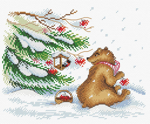 MP Studia Cross Stitch Kit - Winter Treats