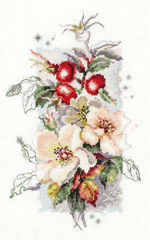 Magic Needle Cross Stitch - Rosa Canina