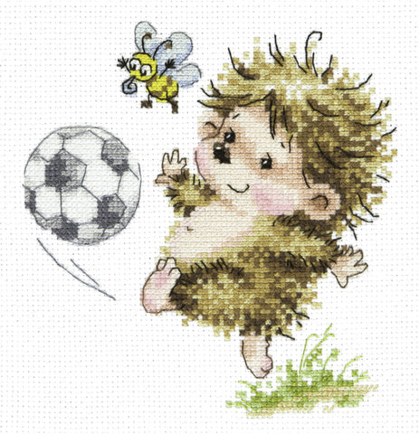 Magic Needle Cross Stitch - Footballer