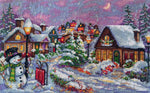 Merejka Cross Stitch Kit - Christmas Night