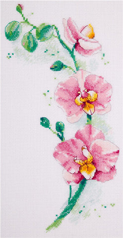 Panna Cross Stitch Kit : Stem of Orchids