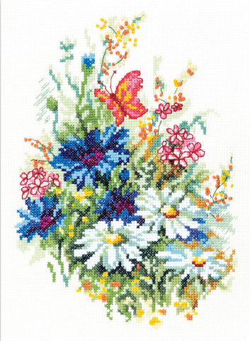 Magic Needle Cross Stitch - Wildflowers