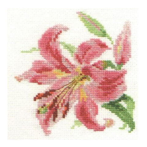 Alisa Cross Stitch Kit - Lily