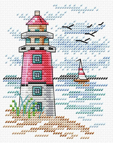 MP Studia Cross Stitch Kit - Lighthouse