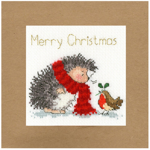 Bothy Threads Cross Stitch Card Kit - Christmas Wishes