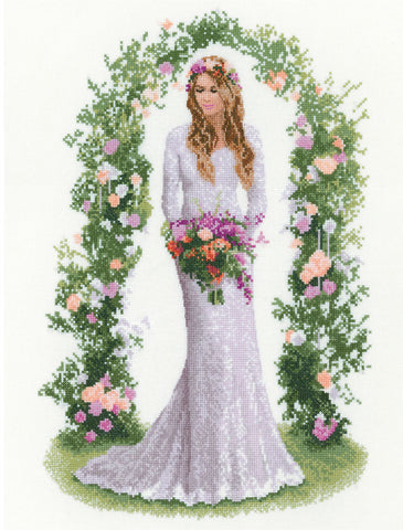 Heritage Crafts Elegance Cross Stitch Kit - Laura
