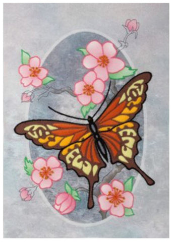 VDV Decorative Stitch Embroidery Kit - Monarch Butterfly (M-0823),