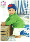 King Cole Pattern Book - Baby Book 6