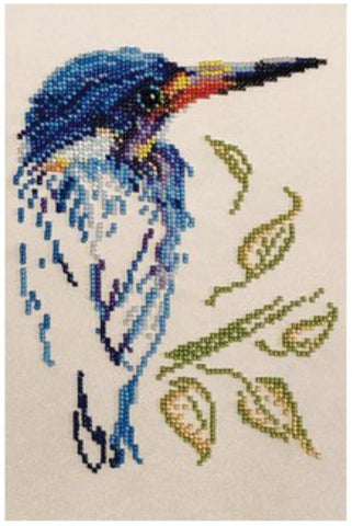 VDV Bead Embroidery Kit - Bird