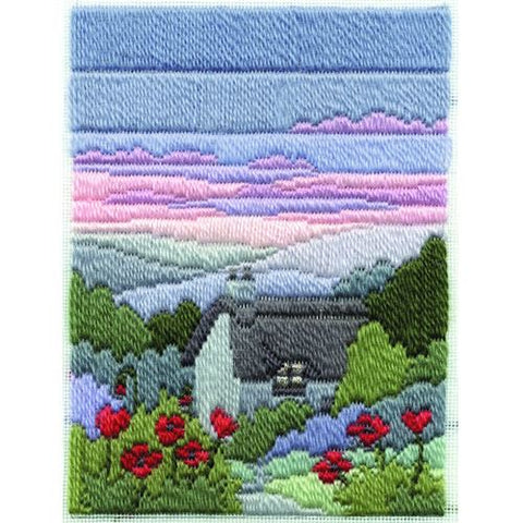 Derwentwater Designs Long Stitch Kit - Summer Evening