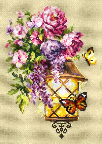 Magic Needle Cross Stitch Kit - Light of Hope