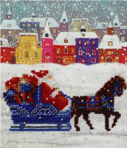 VDV Bead Embroidery Kit - Father Frost