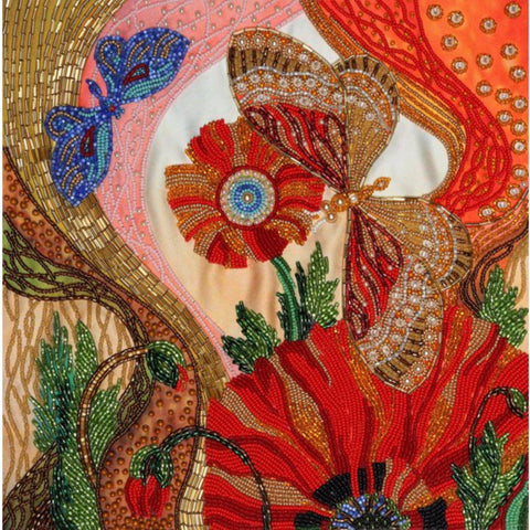 VDV Free-Form Bead Embroidery Kit - Fantasy